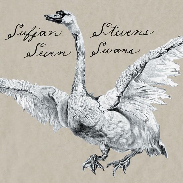 Sufjan Stevens - Seven Swans Cover Art