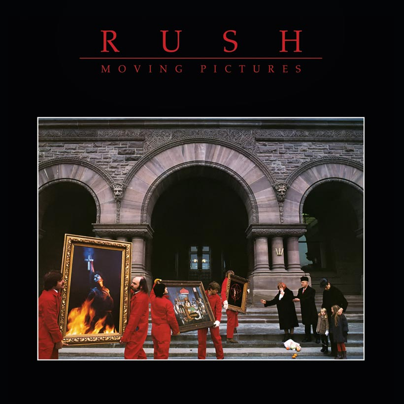 Rush - Moving Pictures, cover art