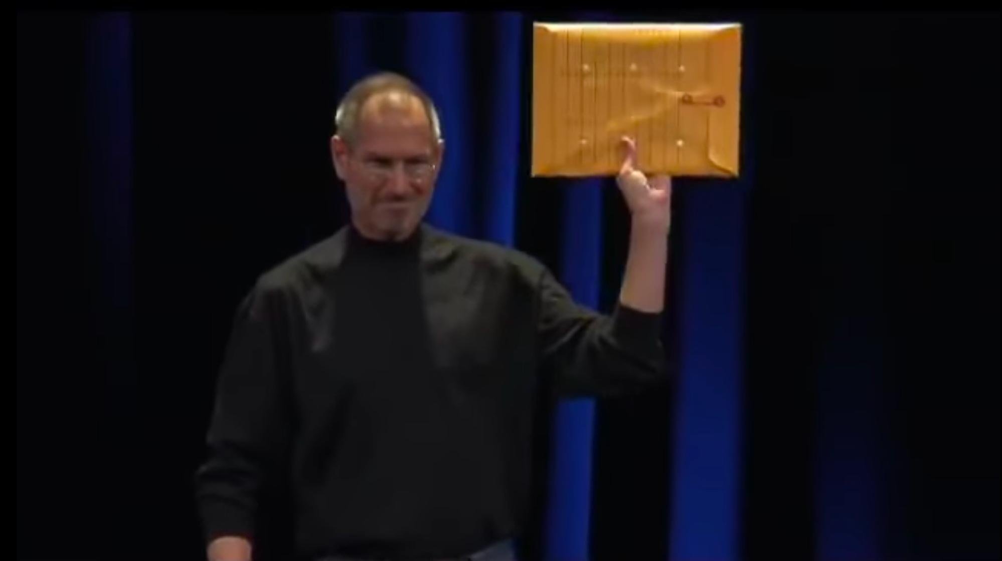 MacBook Air Introduction (2008) - Steve Jobs