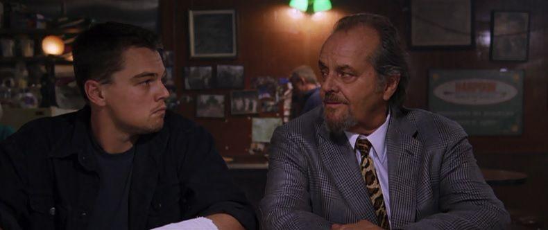 The Departed - Bar Scene - Leonardo DiCaprio and Jack Nicholson