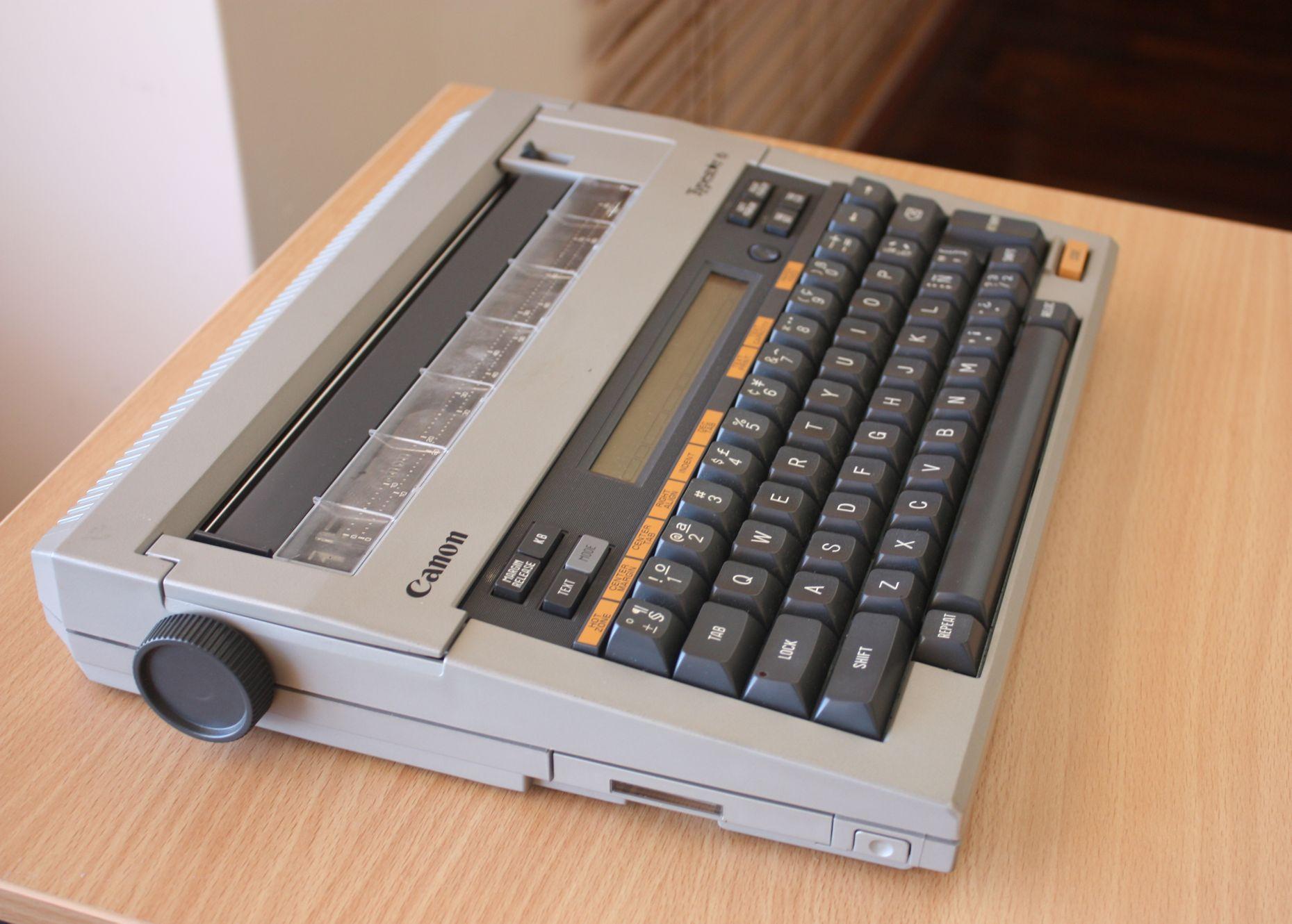 Canon Typestar 5 Electronic Thermal Typewriter